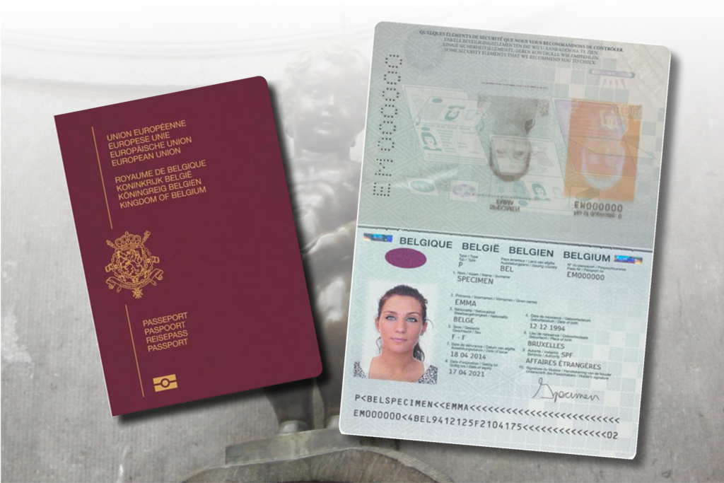 Belgian Passports Iai Industrial Systems B V